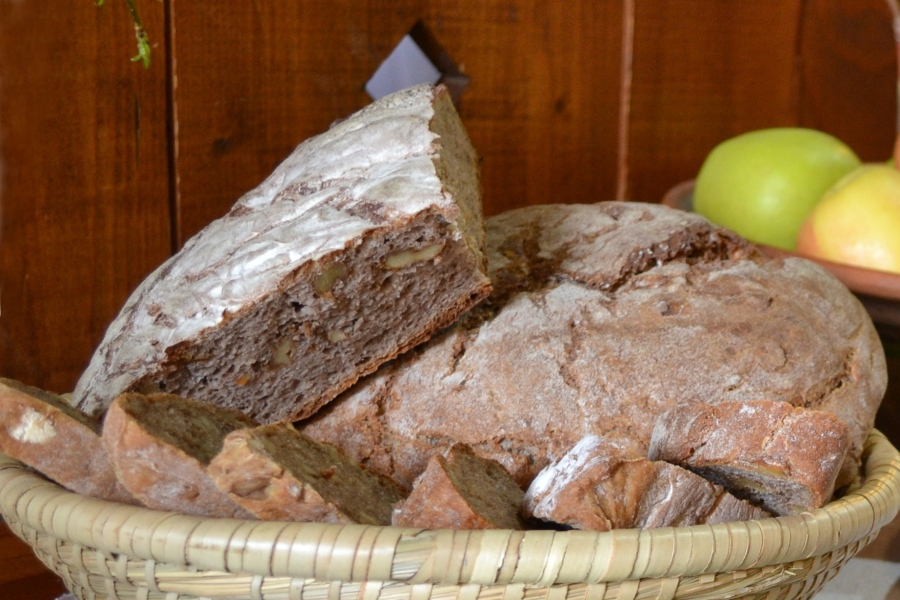 Prodnik Inn Buckwheat Bread with Walnuts